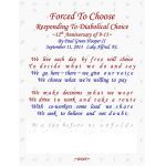 Forced To Choose, Responding To Diabolical Choice