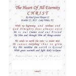 The Heart Of All Eternity, CHRIST