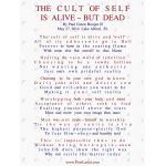 THE CULT OF SELF, IS ALIVE ~ BUT DEAD