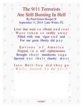 The 9/11 Terrorists, Are Still Burning In Hell