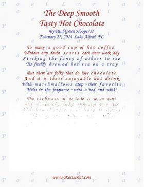 The Deep Smooth, Tasty Hot Chocolate