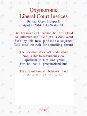 Oxymoronic Liberal Court Justices